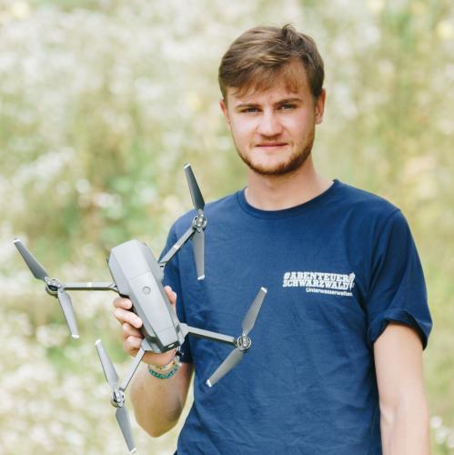 Stephan Radegast, Drohnenpilot