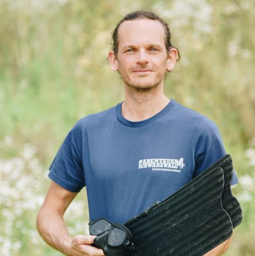 Daniel Bichsel, Projektleitung und Freitauchen