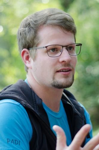 Aaron Pfeffel, Süßwasser Ökologie Workshop